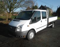 Ford Transit dubbelcabine pick up